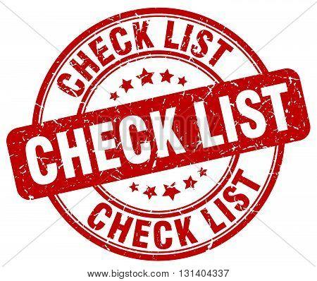 check list red grunge round vintage rubber stamp.check list stamp.check list round stamp.check list grunge stamp.check list.check list vintage stamp.