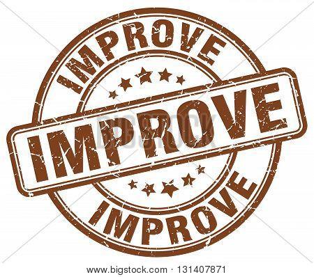improve brown grunge round vintage rubber stamp.improve stamp.improve round stamp.improve grunge stamp.improve.improve vintage stamp.