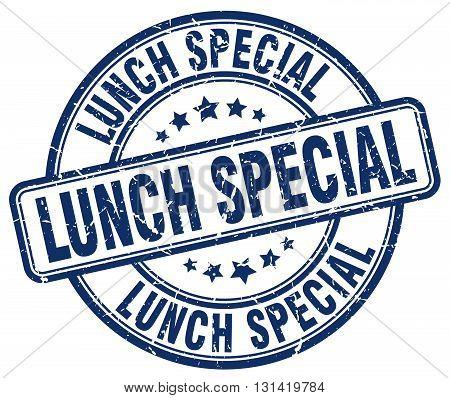 lunch special blue grunge round vintage rubber stamp.lunch special stamp.lunch special round stamp.lunch special grunge stamp.lunch special.lunch special vintage stamp.