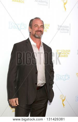 LOS ANGELES - MAY 25:  Chris Meloni at the 37th College Television Awards at Skirball Cultural Center on May 25, 2016 in Los Angeles, CA