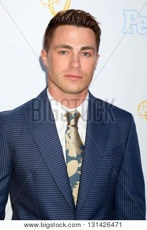 LOS ANGELES - MAY 25:  Colton Haynes at the 37th College Television Awards at Skirball Cultural Center on May 25, 2016 in Los Angeles, CA