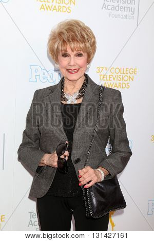 LOS ANGELES - MAY 25:  Karen Sharpe Kramer at the 37th College Television Awards at Skirball Cultural Center on May 25, 2016 in Los Angeles, CA