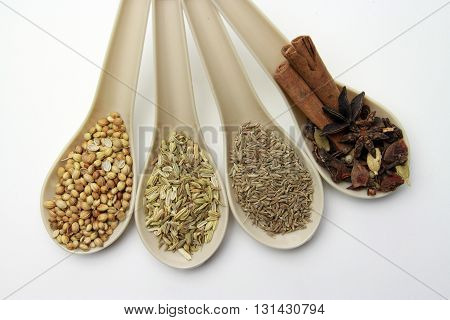 Spice and Herbs / A spice is a seed, fruit, root, bark, berry, bud or other vegetable substance primarily used for flavoring, coloring or preserving food herbs are any plants used for food, flavoring, medicine, or fragrances for their savory or aromatic p