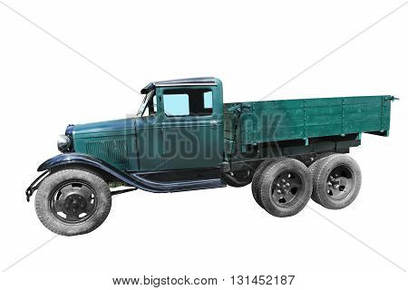 Little old military truck 1943s production of the USSR. GAZ-AAA.
