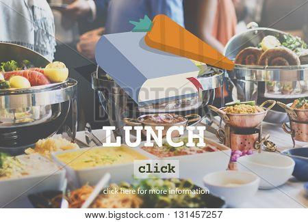 Lunch Meal Healthfood Cook Lifestyle Concept