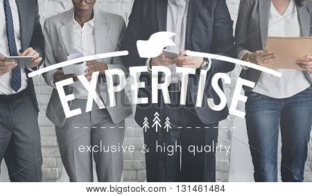 Expertise Ability Excellence Insight Perfection Concept
