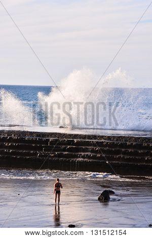 Big Wave In The Ocean