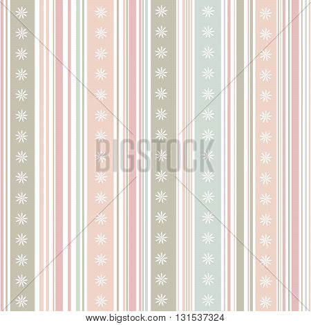 Striped pattern pastel color  in vector illustration