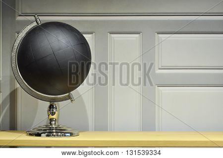 Black Globe Left Side View
