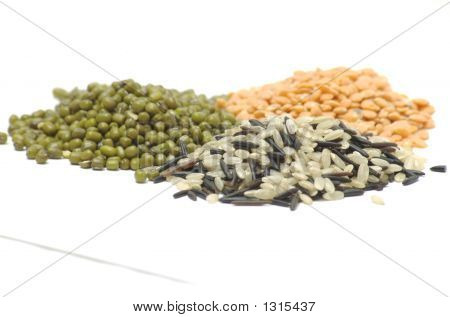 Lentils Moong And Rice  2