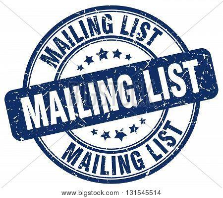 mailing list blue grunge round vintage rubber stamp.mailing list stamp.mailing list round stamp.mailing list grunge stamp.mailing list.mailing list vintage stamp.