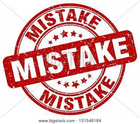 mistake red grunge round vintage rubber stamp.mistake stamp.mistake round stamp.mistake grunge stamp.mistake.mistake vintage stamp.