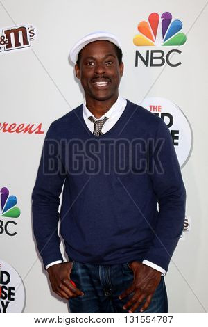 LOS ANGELES - MAY 26:  Sterling K. Brown at the Red Nose Day 2016 Special at Universal Studios on May 26, 2016 in Los Angeles, CA