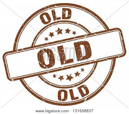 old brown grunge round vintage rubber stamp.old stamp.old round stamp.old grunge stamp.old.old vintage stamp.