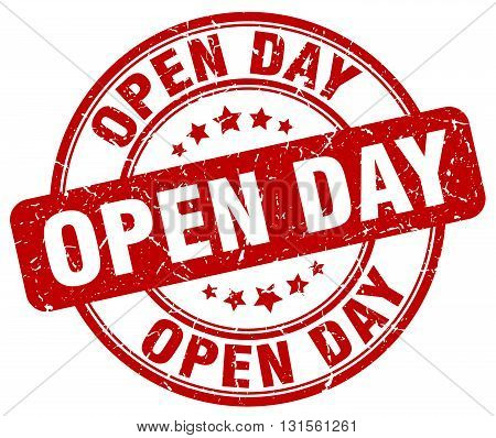 open day red grunge round vintage rubber stamp.open day stamp.open day round stamp.open day grunge stamp.open day.open day vintage stamp.