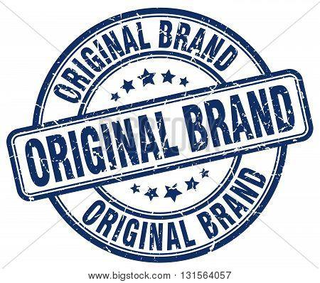 original brand blue grunge round vintage rubber stamp.original brand stamp.original brand round stamp.original brand grunge stamp.original brand.original brand vintage stamp.