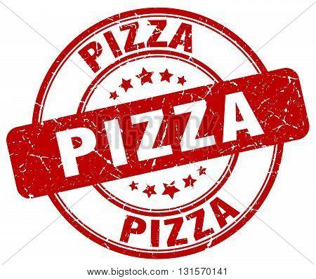 pizza red grunge round vintage rubber stamp.pizza stamp.pizza round stamp.pizza grunge stamp.pizza.pizza vintage stamp.