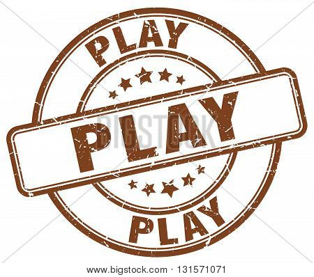 play brown grunge round vintage rubber stamp.play stamp.play round stamp.play grunge stamp.play.play vintage stamp.