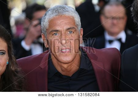 CANNES, FRANCE - MAY 19:  Samy Naceri attends the 'Graduation (Bacalaureat)' Premiere during the 69th annual Cannes Film Festival at the Palais des Festivals on May 19, 2016 in Cannes, France.