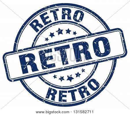 retro blue grunge round vintage rubber stamp.retro stamp.retro round stamp.retro grunge stamp.retro.retro vintage stamp.