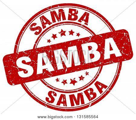 samba red grunge round vintage rubber stamp.samba stamp.samba round stamp.samba grunge stamp.samba.samba vintage stamp.