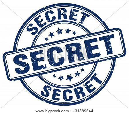 secret blue grunge round vintage rubber stamp.secret stamp.secret round stamp.secret grunge stamp.secret.secret vintage stamp.
