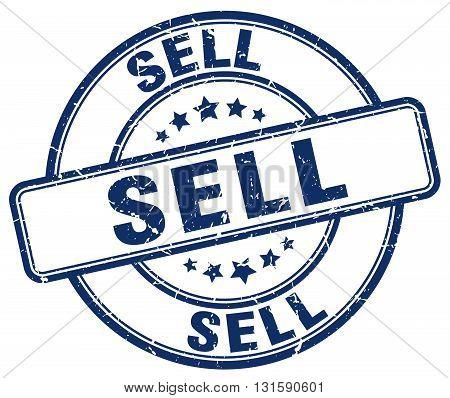 sell blue grunge round vintage rubber stamp.sell stamp.sell round stamp.sell grunge stamp.sell.sell vintage stamp. poster