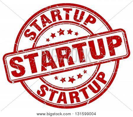 startup red grunge round vintage rubber stamp.startup stamp.startup round stamp.startup grunge stamp.startup.startup vintage stamp.