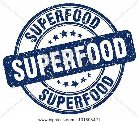 superfood blue grunge round vintage rubber stamp.superfood stamp.superfood round stamp.superfood grunge stamp.superfood.superfood vintage stamp.
