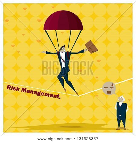 Business Idea series Risk Management concept 1,vector,illustration