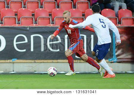 PRAGUE 31/03/2015 _ Jiri Skalak. Friendly match Czech Reublic U21 - Portugal U21
