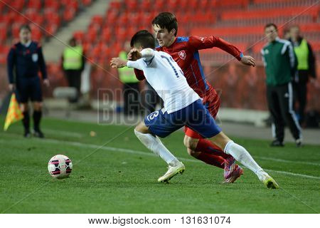 PRAGUE 31/03/2015 _ Friendly match Czech Reublic U21 - Portugal U21