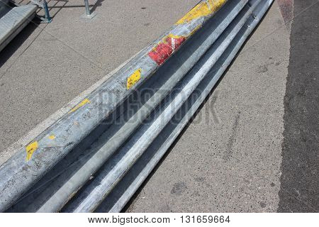 Monaco Grand Prix 2016 - Safety Barrier Fence Racing on Asphalt Road