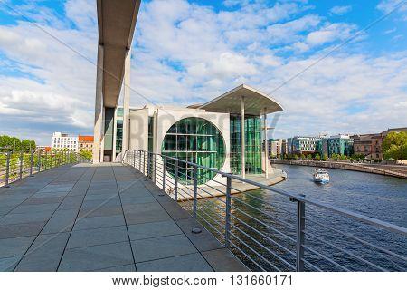 Marie-elisabeth-lueders-haus, Part Of The German Bundestag, In Berlin, Germany