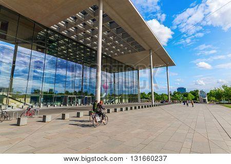 Paul-loebe-haus, Part Of The German Bundestag, In Berlin, Germany