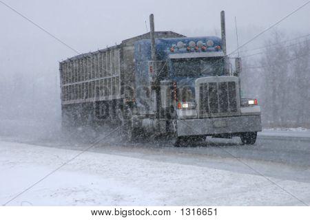 Conducir a través de la tormenta