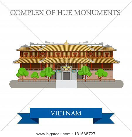Imperial City aka Complex of Hue Monuments in Vietnam attraction