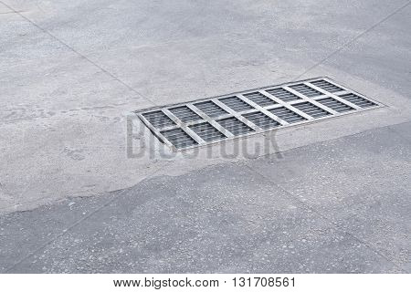 Steel Sewer Cover Or Manhole Cover.