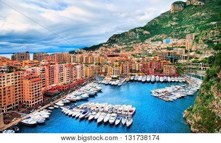 Luxury Yachts In Principality Of Monaco
