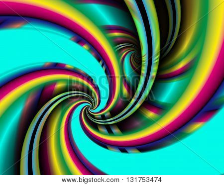 Abstraction fractal background in a bright colors for design.
