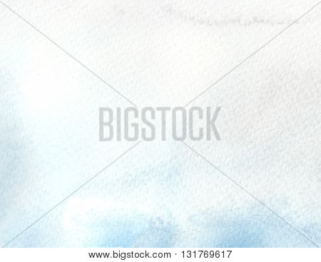faded light blue tones abstract watercolor textures background