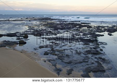 The Cowrie Hole, Newcastle beach, Newcastle NSW, Australia