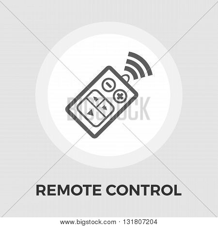 Car remote control icon vector. Flat icon isolated on the white background. Editable EPS file. Vector illustration.