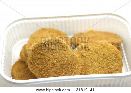 chicken cutlet cordon bleu stuffed with various ingredients