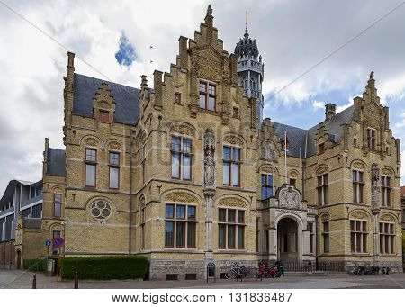 The Courthouse is situated on the Grote Markt. It was built in Flemish Renaissance style. Belgium