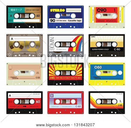 Vintage Cassette Tapes Vol 3