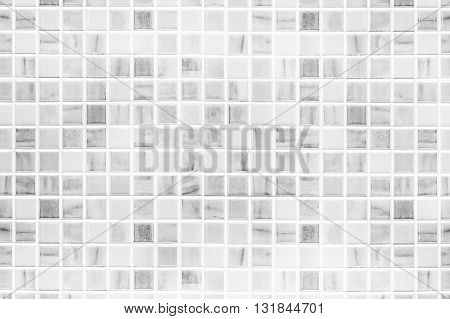 Gray tile wall / Abstract gray ceramic tile wall texture