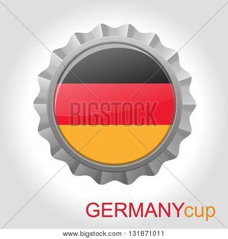 Germany flag cap