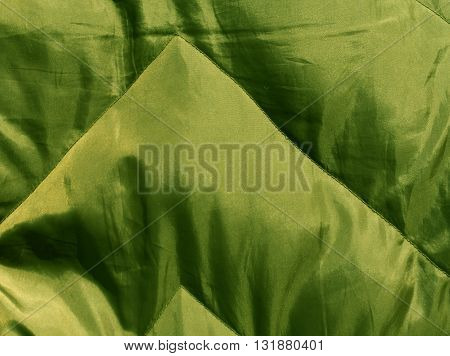 Abstract Green Cloth Texture.