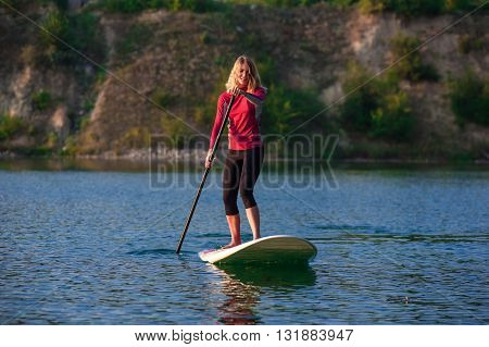 Sup Stand Up Paddle Board Woman Paddle Boarding11